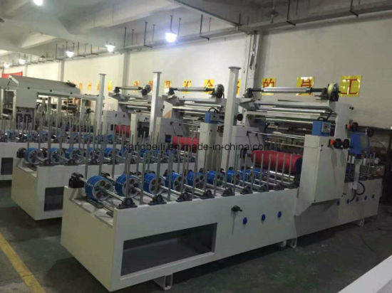 MDF Board Decoarative Woodworking Laminating Gluing Machine pictures & photos