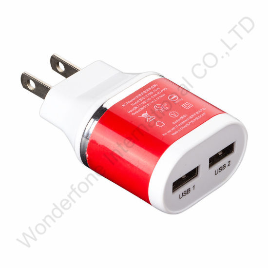 Full 2.5A 2 USB Port Charger