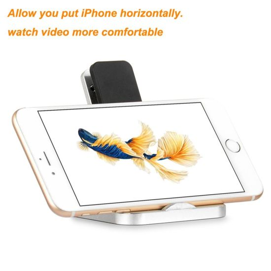 for iPhone 7 Mobile Phone Travel Charging Stand Dock Charger Station pictures & photos