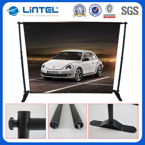 China Adjustable Folding Portable Tradeshow Event Backdrop Stand - Portable car show display stand