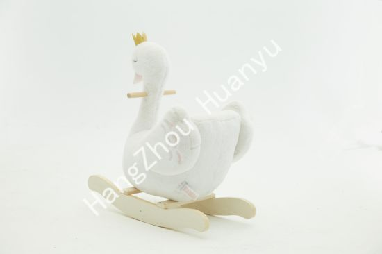 Labebe Wooden Rocking Horse Animal-Swan Ride on Toys pictures & photos