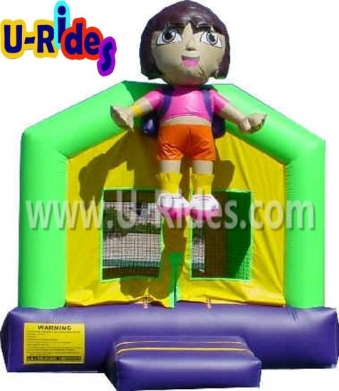 Commercial Dora inflatable bounce house inflatable bouncer inflatable bouncy castle for kids pictures & photos