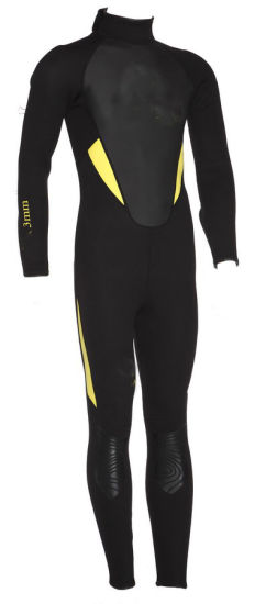 Men's 3mm Neoprene Long Sleeve Wetsuit for Diving and Surfing