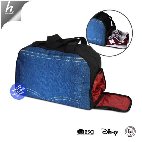 Por Gym Bag With Shoe Compartment Garment For Sport