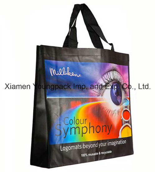 Heavy Duty Matt Laminated PP Non-Woven Large Reusable Carrier Bag pictures & photos