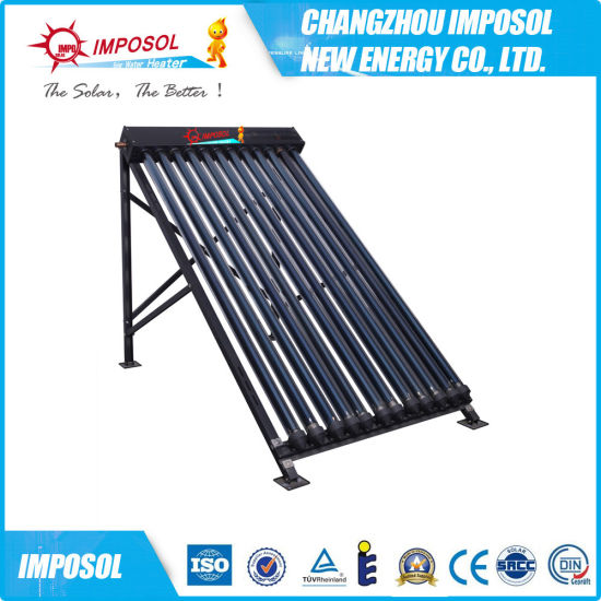 20 Tubes CPC Solar Thermal Collector with Heat Pipe