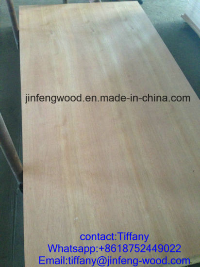 Red Oak Veneer MDF Panel Board 1220*2440*14mm pictures & photos