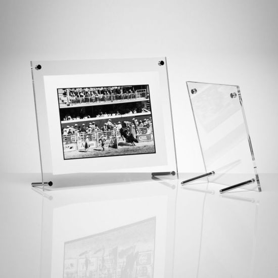 China Slightly Angled Perspex Prints Display Picture Frames with ...