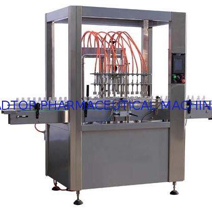 Qx Liquid Glass Bottle Filling Machine Air Jet Bottle Washing Machine