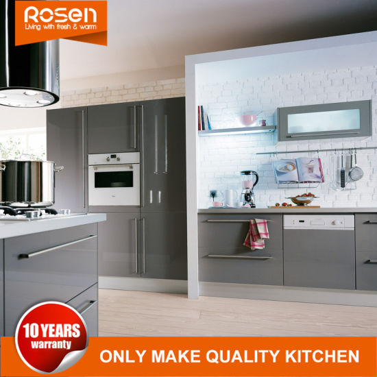 Brilliant Customized High Quality Gray Plastic Laminate Kitchen Cabinets Furniture Beutiful Home Inspiration Ommitmahrainfo
