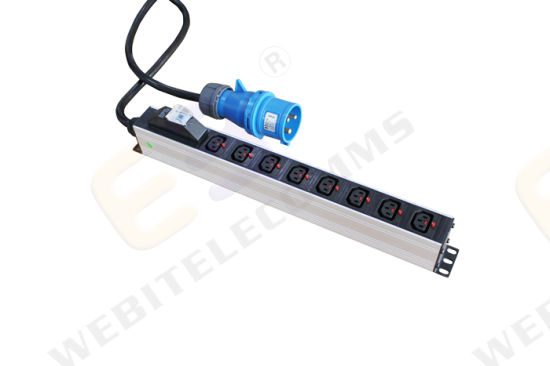 Vertical Installation Industrial 8 Outlet IEC PDU with Circuit Breaker pictures & photos