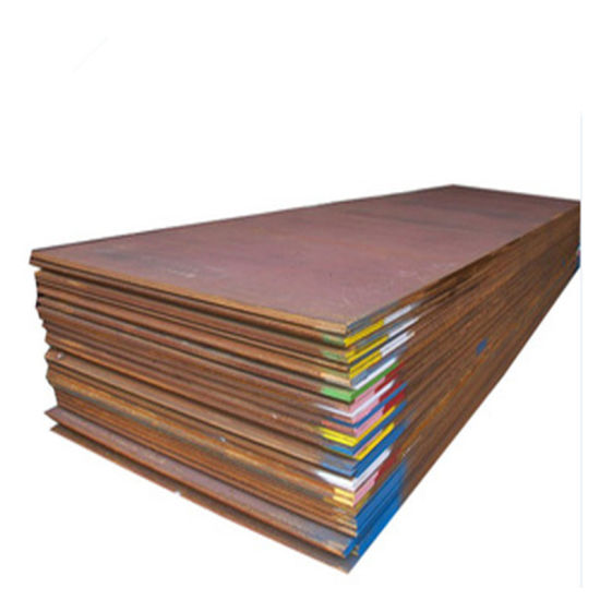 China Sma490aw Sma490bw S355j2wp A606 Corten Steel Sheet Price