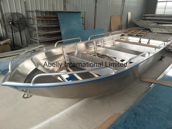 China Abelly All Welded 16FT V Type Fishing Boat/ Jon Boat