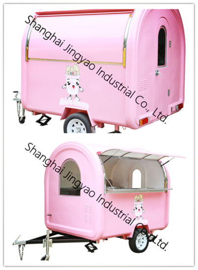 Commerical Food Trolley/Crepe Cart/Street Food Vending Cart for Sale pictures & photos