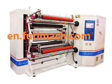 Slitter and Rewinder Machine for Paper, BOPP, Alu Foil, PE Film (Jumbo Roll Tape Slitting Machine) pictures & photos