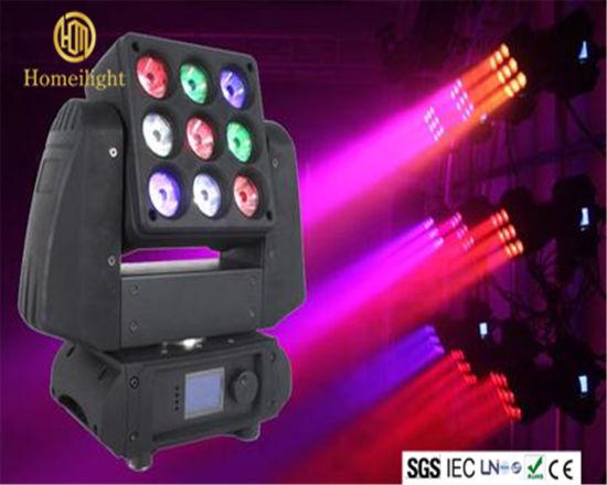 Mix Colors Stage Light LED Moving Head Lighting Matrix