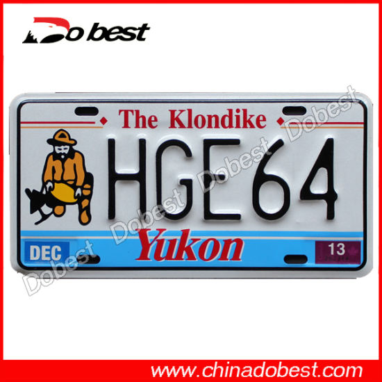 Custom Embossed Car License Plate pictures & photos