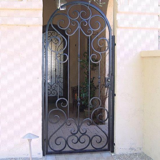 Iron Main Gate Designs House Gates Wrought Iron Gate