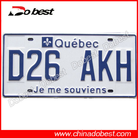 China Euro Standard Car Number Plate China Customized License