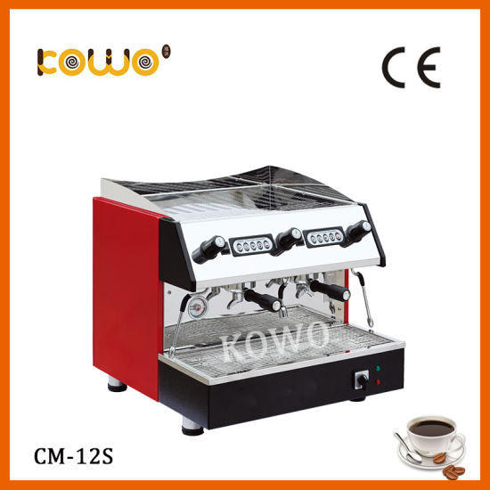 Stainless Steel Multifuction Cappuccino Coffee Maker for Hotel