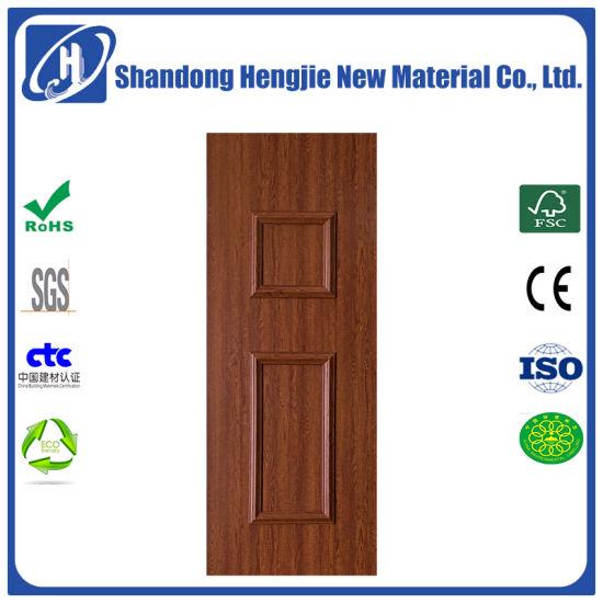 Fire Rated Waterproof Wood Plastic Composite WPC Interior Door