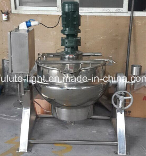 Stainless Steel Jacketed Kettle with Removable Agitator