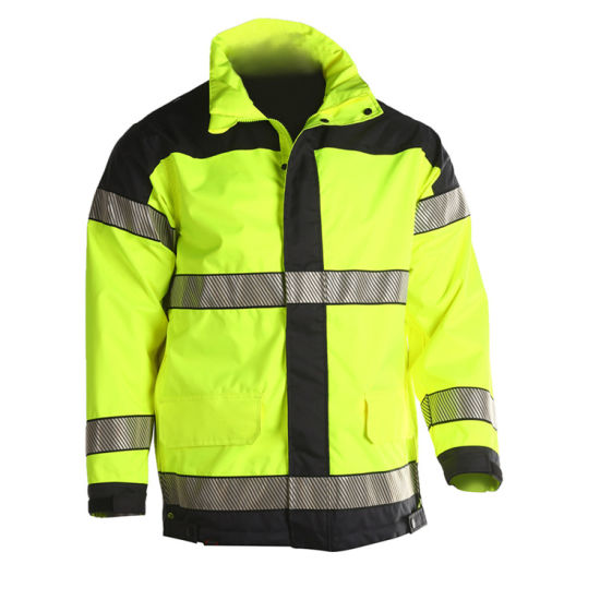 High Quality Waterproof Hi Vis Reflective Jacket