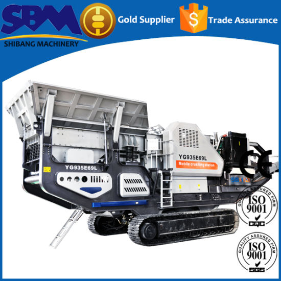 0e4a3807ffba Mobile Rock  Brick Gold Waste Crusher Machine Price for Sale pictures