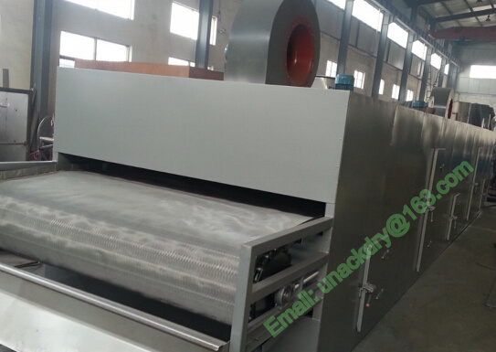Steam Heating Single Layer Belt Dryer/ Tunnel Dryer/ Drying Machine pictures & photos
