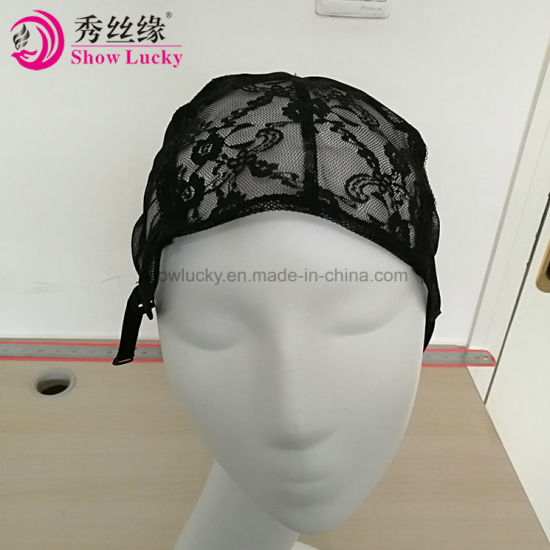 Hair Extensions & Wigs 1 Pcs Double Lace Wig Caps For Making Wigs And Hair Weaving Stretch Adjustable Wig Cap Hot Black Dome Cap For Wig Hair Net