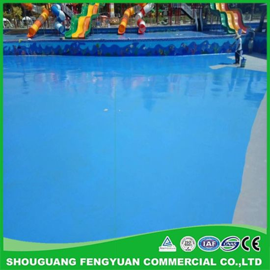 Swimming Pools Elastomer Polyurea Coating Waterproof Paint