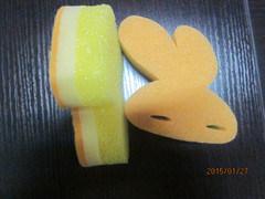 Rabbit Shape Kitchen Sponge, Cartoon Shape Cleaning Sponge, Cleaning Tool
