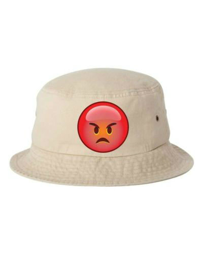 High Quality Custom Cigaret Emoji Bucket Hat Cap pictures & photos