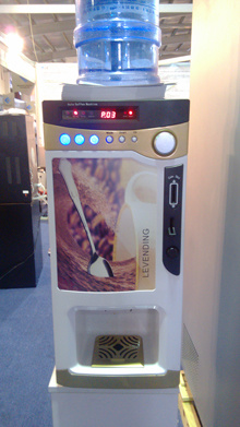 Fully-Automatic Coffee Vending Machine (F303V)