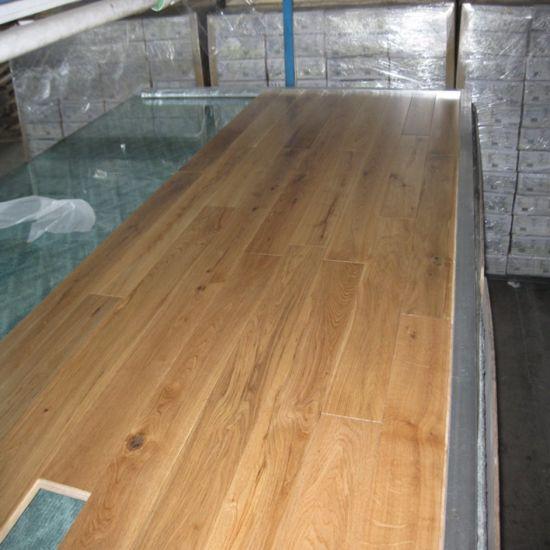 China Hot Sale Engineered White Oak Wood Flooring China Wood Floor