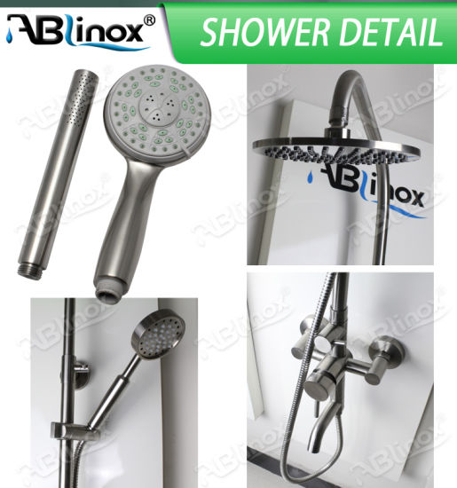Stainless Steel Shower Set (AB201) pictures & photos