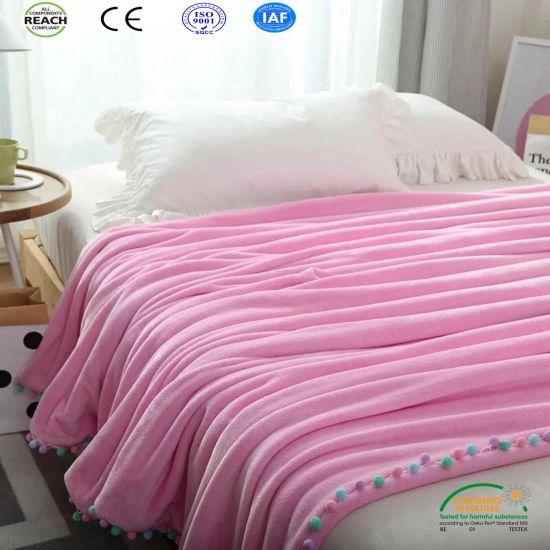 2018 Hot Pink Queen Size Blanket