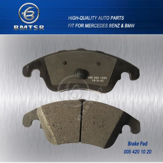 Top Quality Disc Brake Pad for Mercedes Benz W211 W204 OE: 005 420 10 20