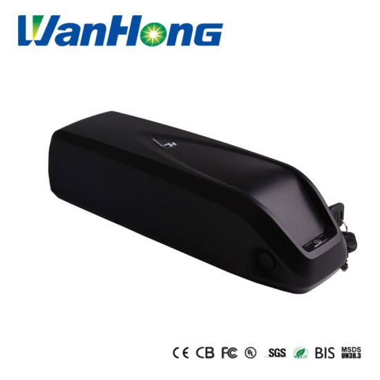 2 Years Warranty 18650 Cell 48V 13ah Hailong Down Tube Down Mounted Lithium Ion Shark E-Bike Rechargeable Li-ion Battery with Sanyoga Cells with Un Test