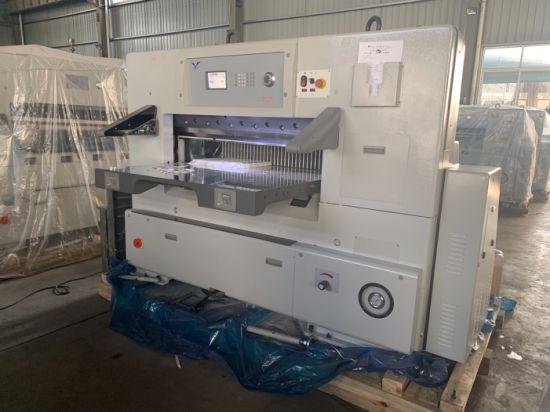 Paper Sheet Cutting Machine, Paper Pattern Cutting Machine, Roll Paper Cutting A4 Machine (QZYK1150D-8)