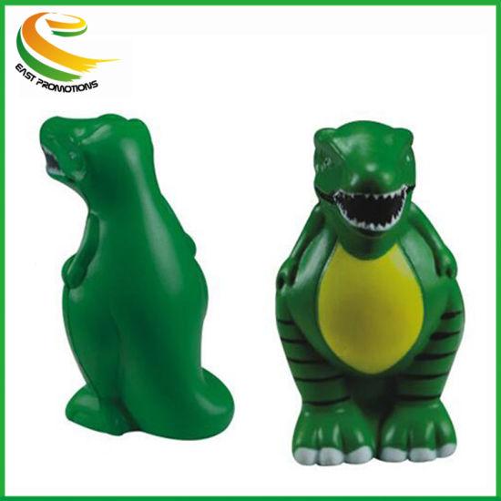 Wholesale Custom Dragon Shape PU Foam Reliever Fruits Anti-Stress Ball Kid Toy