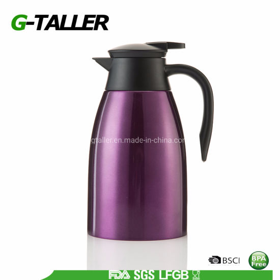 Double Wall Insulated Vacuum Stainless Steel Kettle