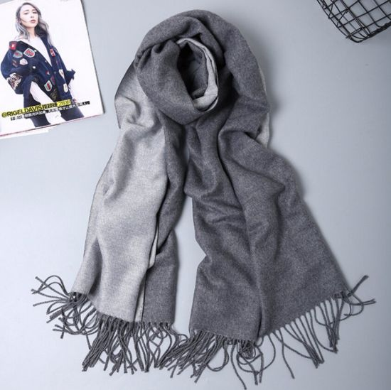 ebd3e450bf013 Infinity Soft Cashmere Feel Pashmina Shawl Wrap Winter Scarf in Solid Colors  pictures & photos