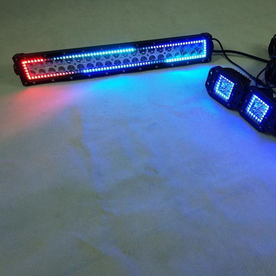 Wholesale Factory Price 180W 30inch Car Light Ford Ranger T6 Accessories RGB LED Light Bar