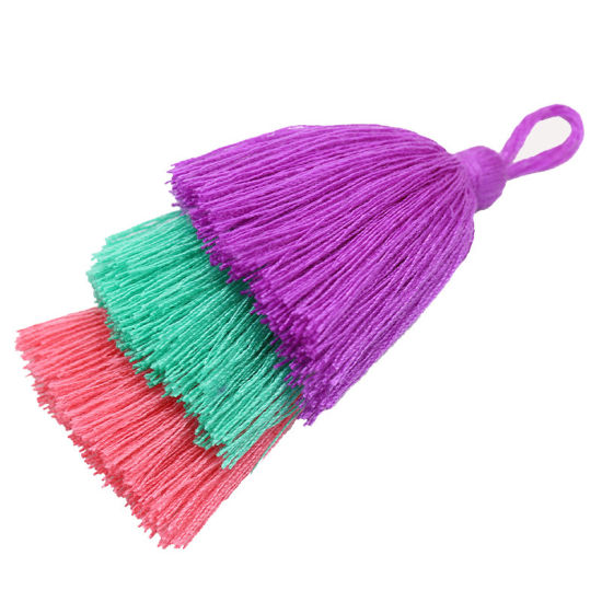 Wholesale More Colors Double Lace Tassel for Bag Decoration