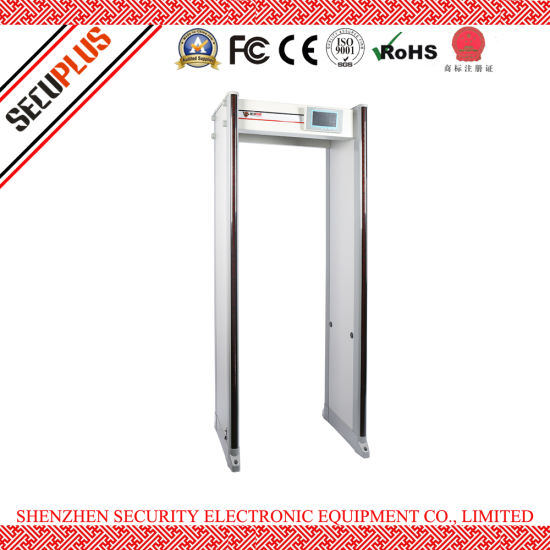 33 zones School Security Archway Metal Detectors Gate ( SPW-300S )