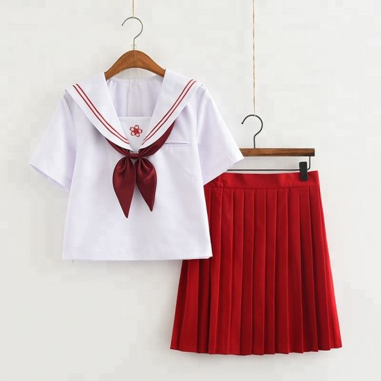 Custom New Design Fashionable High School Uniforms for Girls