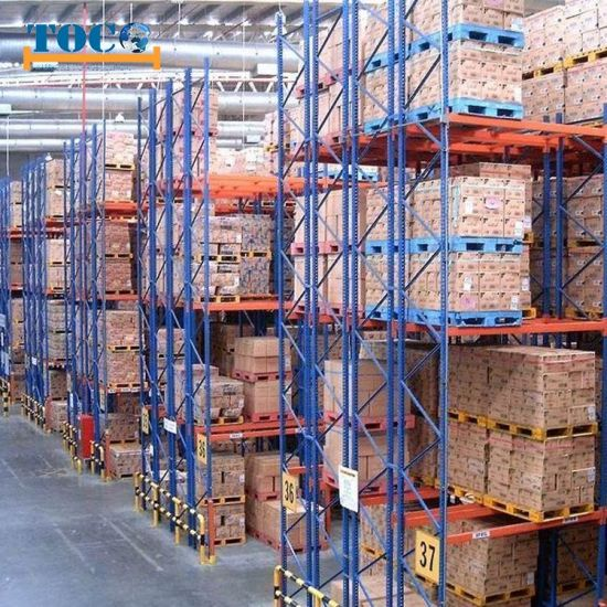 Factory Price Warehouse Double Deep Racking Container Pallet