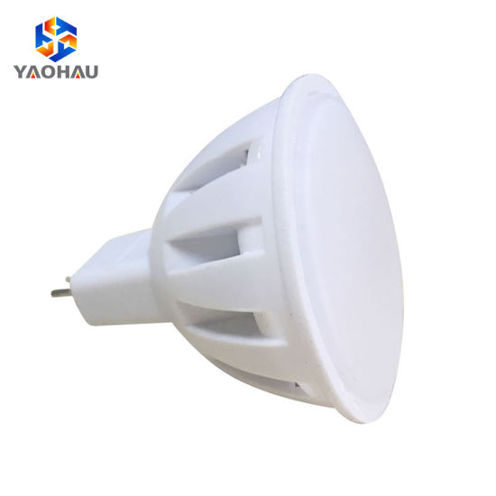 Top Quality Easy Installation Round Warm White Plastic SMD 2835 4W MR16 LED Lamp Cups Spotlight