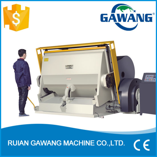 Auto/Manual Ml Series Flatbed Die Cutting and Creasing Hot Stamping Machine with Ce